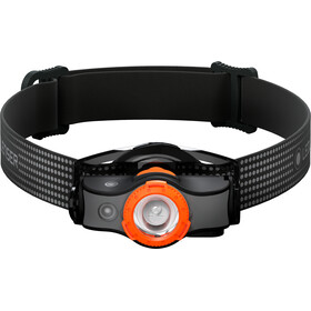 Led Lenser MH5 Faro Delantero, black/orange